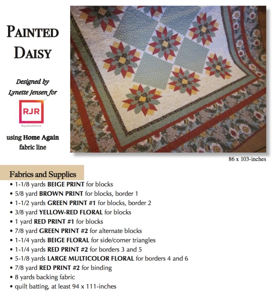 Painted Daisy F&S